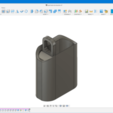 Fusion360_LrDrNUcLTo.png Download free STL file shower bar base • 3D printable design, Cyborg