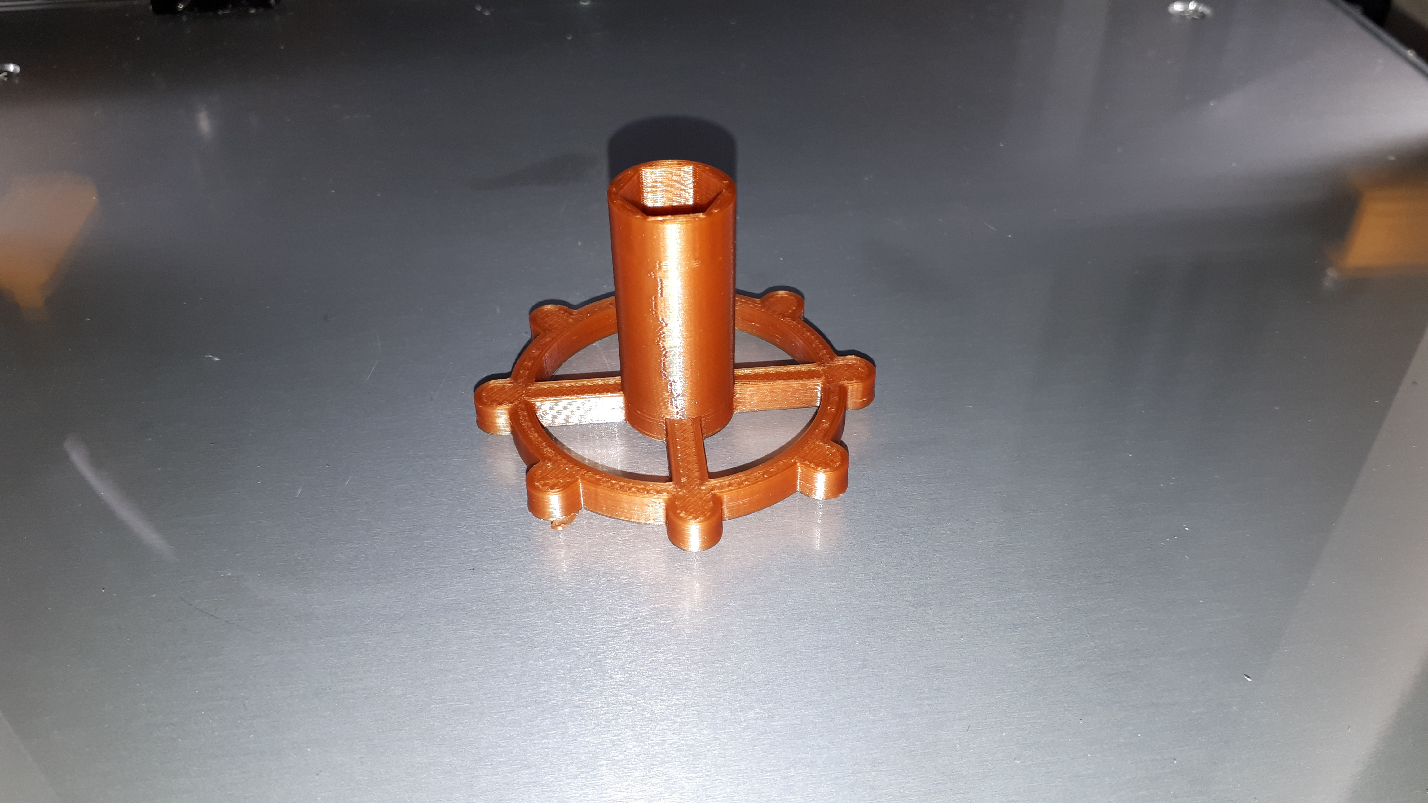 20180507_035015.jpg Download free STL file clé pour raccord pneumatique du corps de chauffe CR-10 . • 3D printable template, Cyborg