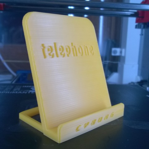WP_20171115_00_26_27_Pro.jpg Download free STL file Phone support • 3D print object, Cyborg