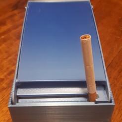 20201107_201342.jpg Télécharger fichier STL gratuit distributeur de cigarettes • Plan imprimable en 3D, Cyborg