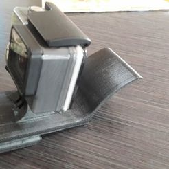 Download 3D printing templates Gopro Cap mount Version 2, Calle