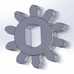 spiritpinion.png Télécharger fichier STL gratuit Pignon de compteur PKE Spirit Halloween • Objet pour imprimante 3D, WindDrake