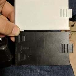 3001_1.jpg Télécharger fichier STL gratuit Porte de la batterie du détecteur de métaux Radioshack Micronta 3001 • Modèle à imprimer en 3D, WindDrake