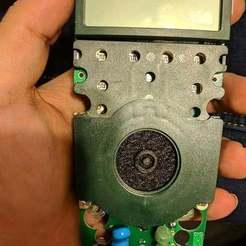 extech1.jpg Télécharger fichier STL gratuit Cadran de sélection du multimètre Extech 530 et couvercle de la batterie • Design imprimable en 3D, WindDrake