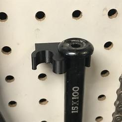 2019-09-24_16.35.24.jpg Télécharger fichier STL gratuit Support pour essieu traversant de 12 mm et 15 mm pour bicyclette • Plan pour impression 3D, cmh