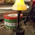 Télécharger fichier STL gratuit Remix de la lampe à pied de Christmas Story pour l'éclairage LED • Plan pour imprimante 3D, cmh