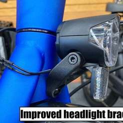 Download free 3D print files Replacement headlight mount for Trek Allant+ e-bike, cmh