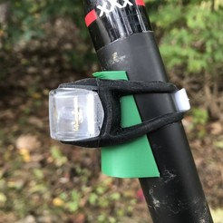 Télécharger fichier impression 3D gratuit Remplissage angulaire pour les feux de tige de selle de bicyclette, cmh