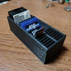 Impresiones 3D gratis Otro soporte de tarjeta SD, cmh