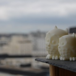 Free 3D printer designs Cuddling Owls, Biniou
