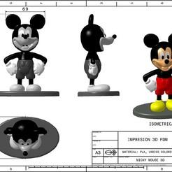 Download STL file micky mosue • 3D printer design, GUSTAVO