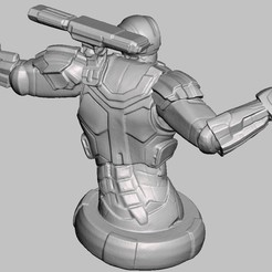 Download 3D model ironman, GUSTAVO