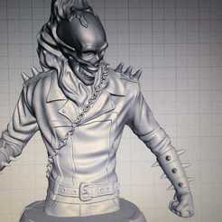Download STL file Ghost rider, GUSTAVO