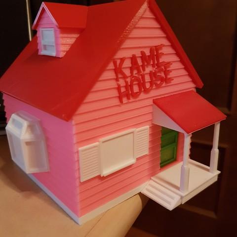 Objet 3D gratuit Kame House de Dragon Ball, Foxandxss