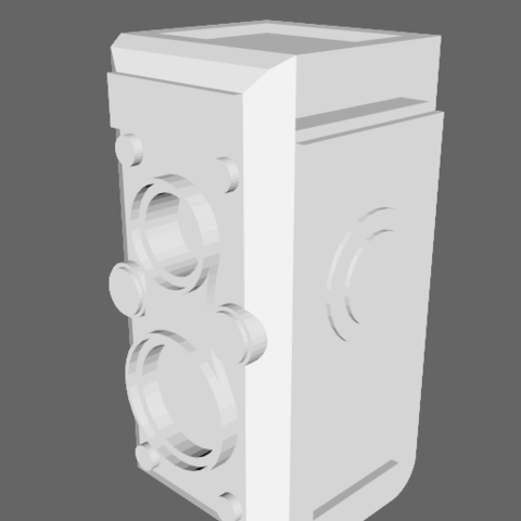 Download free STL file Rolleiflex • 3D printer design, alber