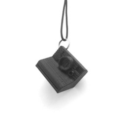 Descargar Modelos 3D para imprimir gratis polaroid keychain , alber