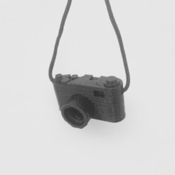 camera keychain STL file, alber