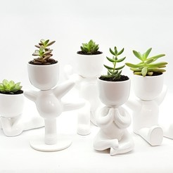 IMG_20190519_192930_187.jpg Download STL file boy fat potted plants and stl for 3D printing 3D model • Template to 3D print, FabioDiazCastro