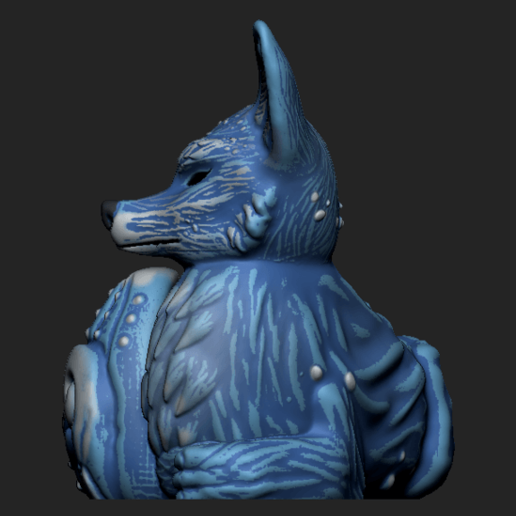 Imagen3.png Télécharger fichier OBJ Jardinière de renard des forêts nocturnes - STL pour l'impression 3D • Plan pour imprimante 3D, FabioDiazCastro