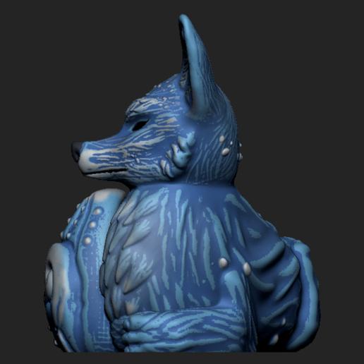 Imagen3.png Download OBJ file Night Forest Fern Fox Planter - STL for 3D Printing • 3D print model, FabioDiazCastro