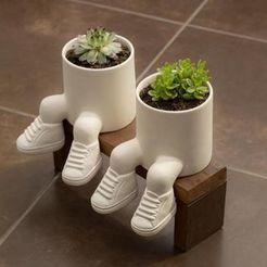 d348d9e624d3dad308d3e080d7fcc890.jpg Télécharger fichier OBJ Jardinière avec des baskets - stl pour l'impression 3D modèle 3D • Design à imprimer en 3D, FabioDiazCastro