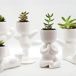 20190519_162815.jpg Download STL file meditating boy fat potted plants and stl for 3D printing • 3D printer object, FabioDiazCastro