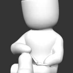 Imagen1.png Download OBJ file Reader fat boy stl for 3D printing • 3D printing template, FabioDiazCastro