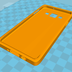 Download free 3D printing designs Samsung Galaxy A3 Cover, Simdid