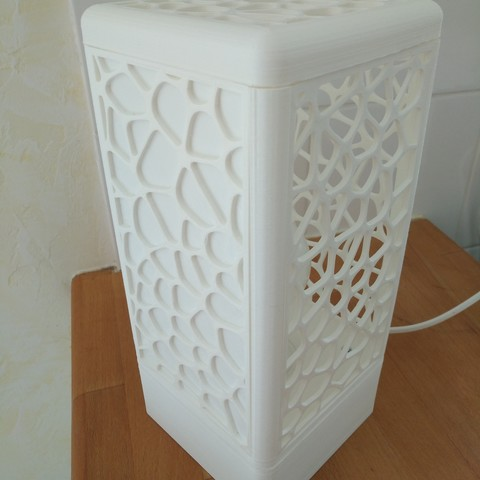 IMG_20180602_154240.jpg Download free STL file Customisable tower lamp • 3D print template, Simdid