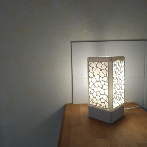 Download free 3D model Customisable tower lamp, Simdid