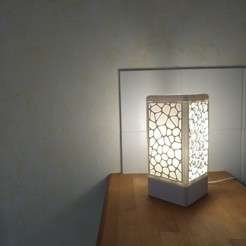 Free 3D print files Customisable tower lamp, Simdid