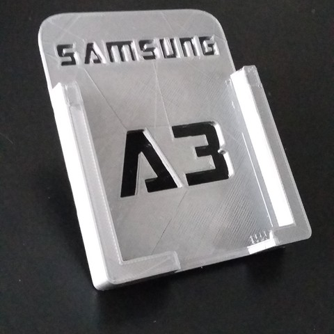 20170115_124813.jpg Download free STL file Samsung A3 Car Holder • 3D print template, Simdid