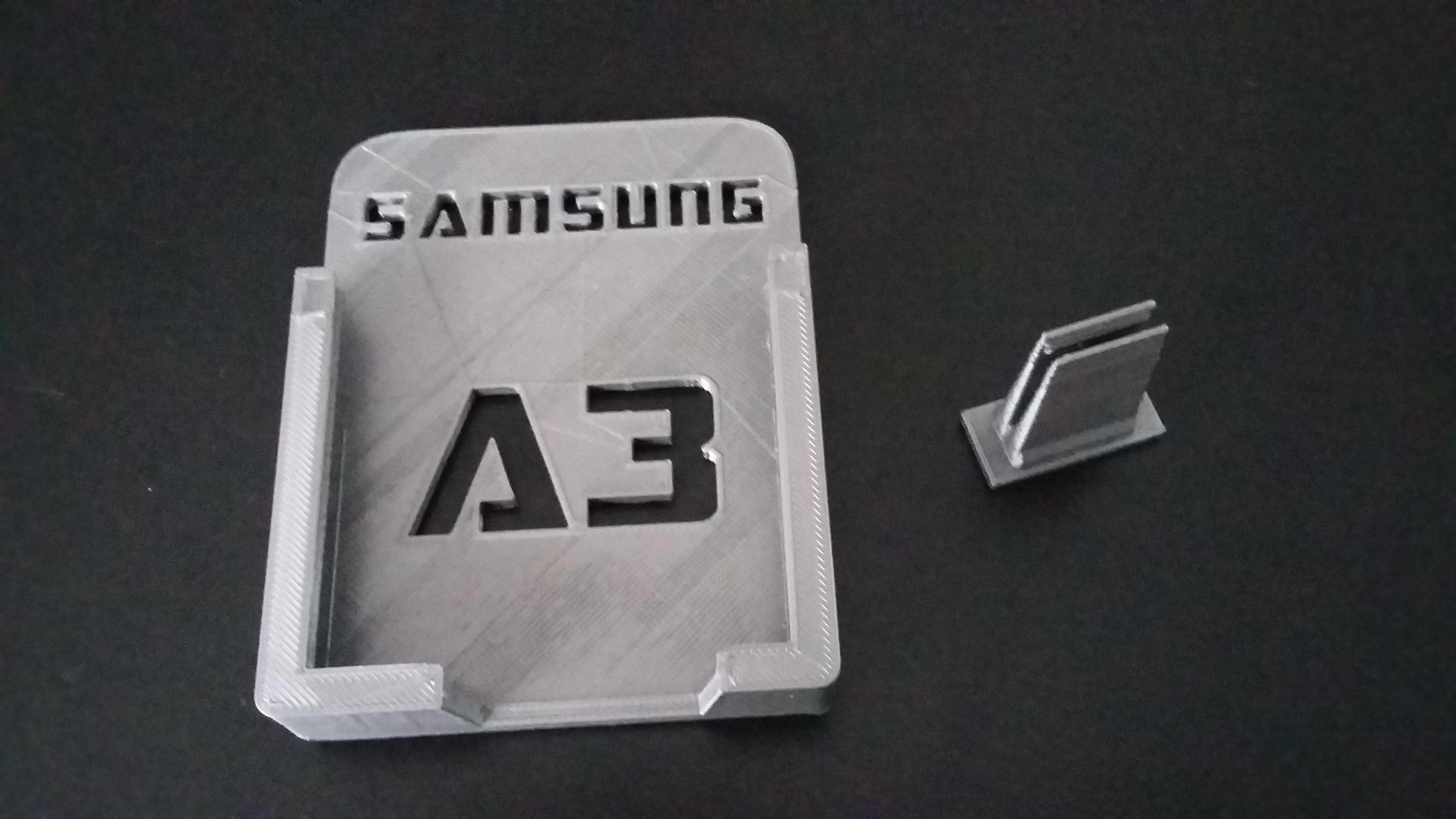 20170115_124401.jpg Télécharger fichier STL gratuit Support auto pour Samsung A3 • Objet imprimable en 3D, Simdid