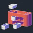 Captura de pantalla 2020-04-03 a la(s) 20.49.58.png Télécharger fichier STL organisateur de cuisine • Objet pour imprimante 3D, gairos