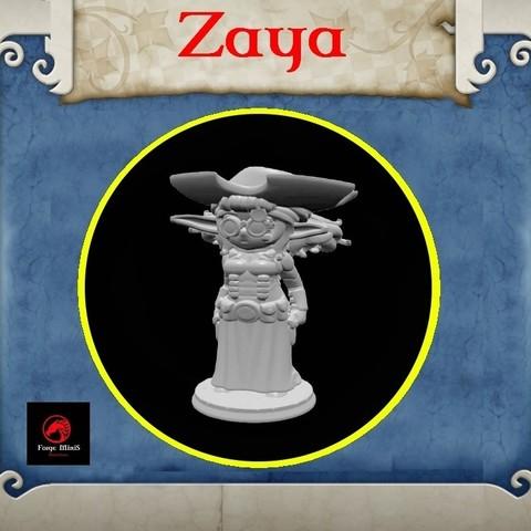 Free stl file Zaya, Zaeius