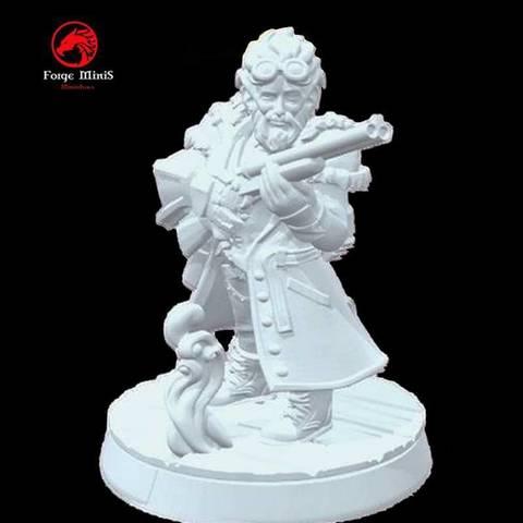Free 3D printer designs DC Zang, Zaeius