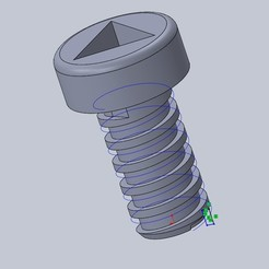 Download free STL file Junior meccano screws • Model to 3D print, 14pv44
