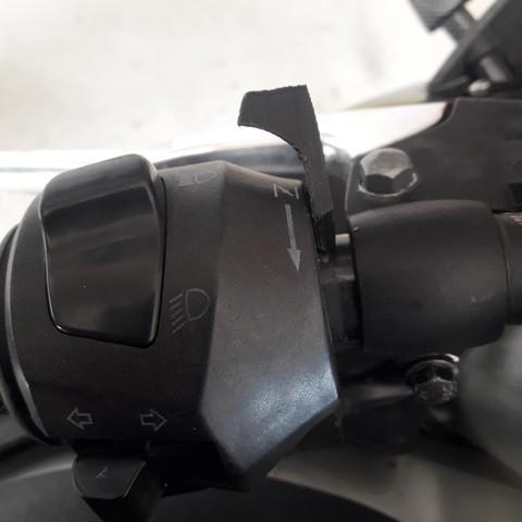 Objet 3D levier starter commodo moto, 14pv44