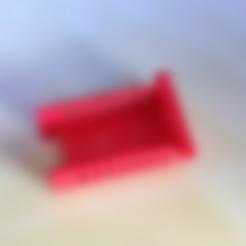 Vortexhalterung_Marco.STL Download free STL file Receiver Holder for Devo7 • 3D printable model, Supeso