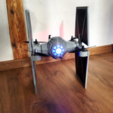 Download free 3D printing designs StarWars TieFighter Gen1 , Supeso