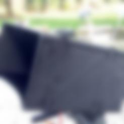 """Free 3d printer designs Sunscreen 7"""" Monitor, Supeso"""