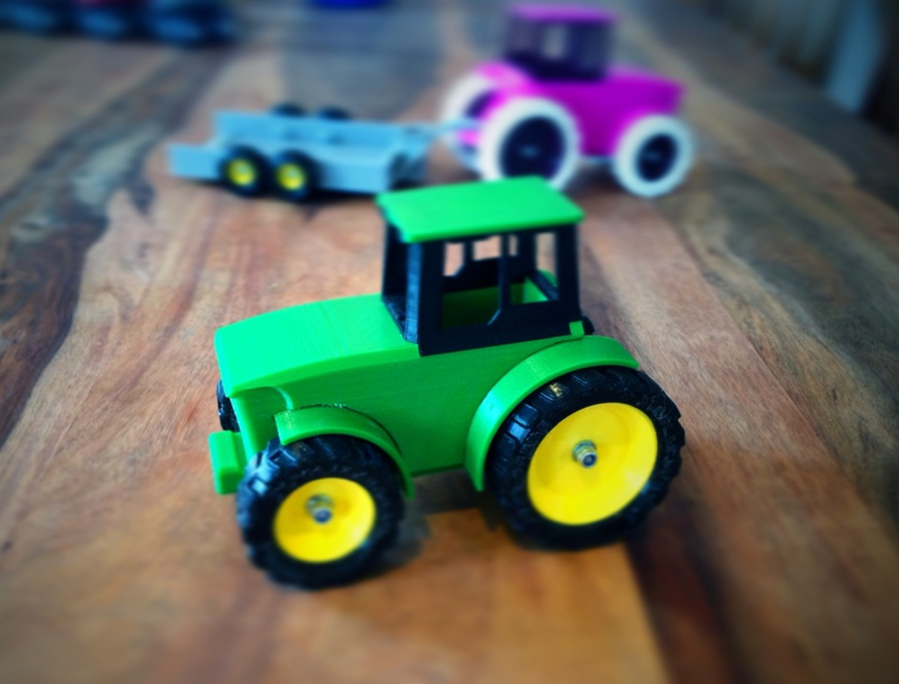 Capture d'écran 2017-06-16 à 18.04.39.png Download free STL file John Deere Tractor and Trailer • 3D printing object, Supeso