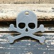 Download free STL file Skull keychain • Object to 3D print, Free-3D-Models