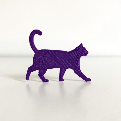 1.JPG Download free STL file Cat • 3D print model, Free-3D-Models