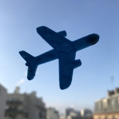 7.JPG Télécharger fichier STL gratuit Porte-clés ou pendentif avion • Modèle à imprimer en 3D, Free-3D-Models