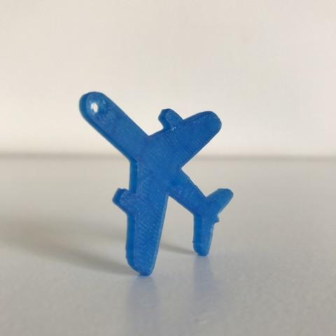 3.JPG Télécharger fichier STL gratuit Porte-clés ou pendentif avion • Modèle à imprimer en 3D, Free-3D-Models