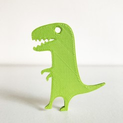 Download free 3D printing designs T-Rex Dinosaur, Free-3D-Models