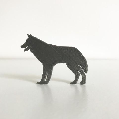 2.JPG Télécharger fichier STL gratuit Loup • Modèle pour impression 3D, Free-3D-Models
