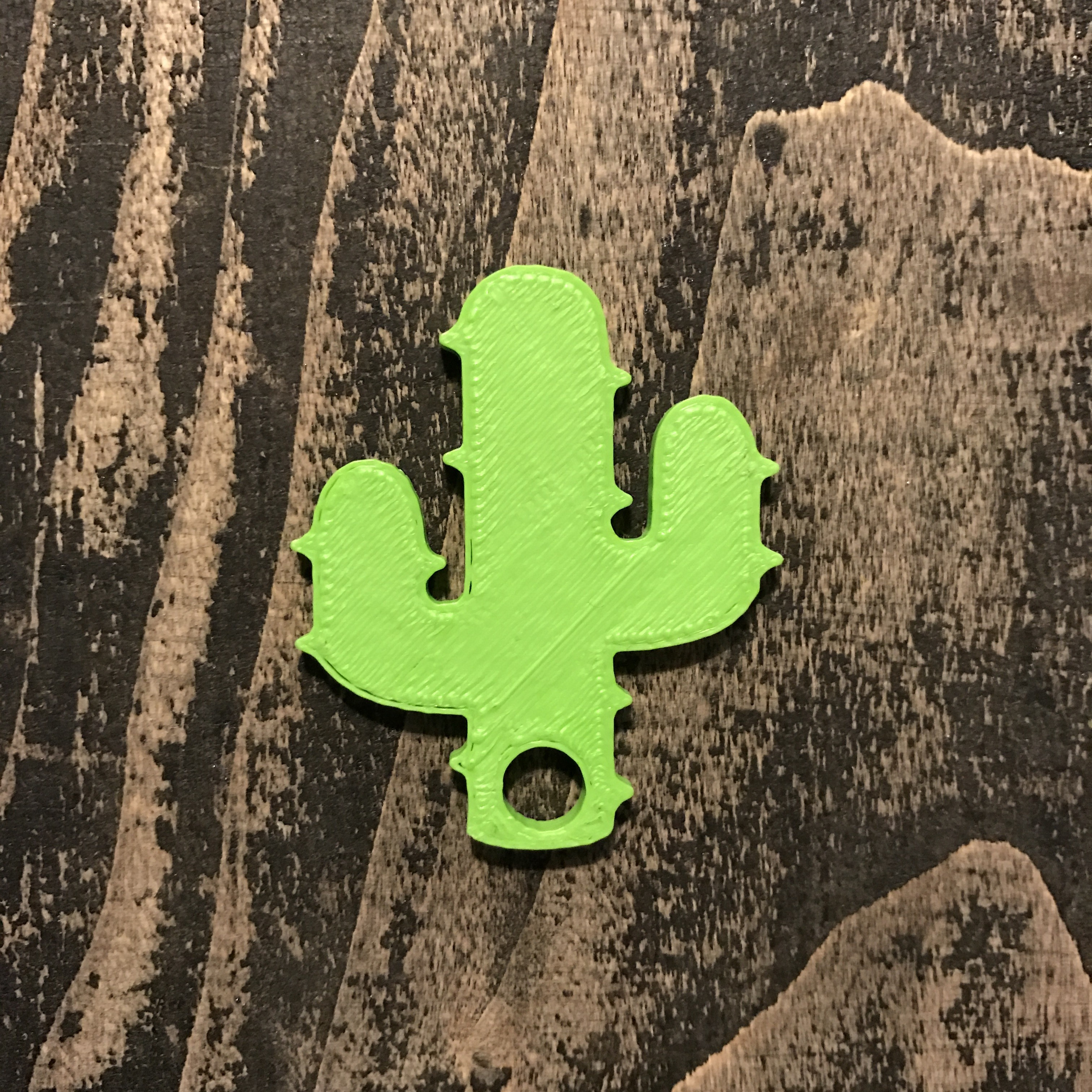 1.JPG Download free STL file Cactus keychain or pendant • 3D printing model, Free-3D-Models