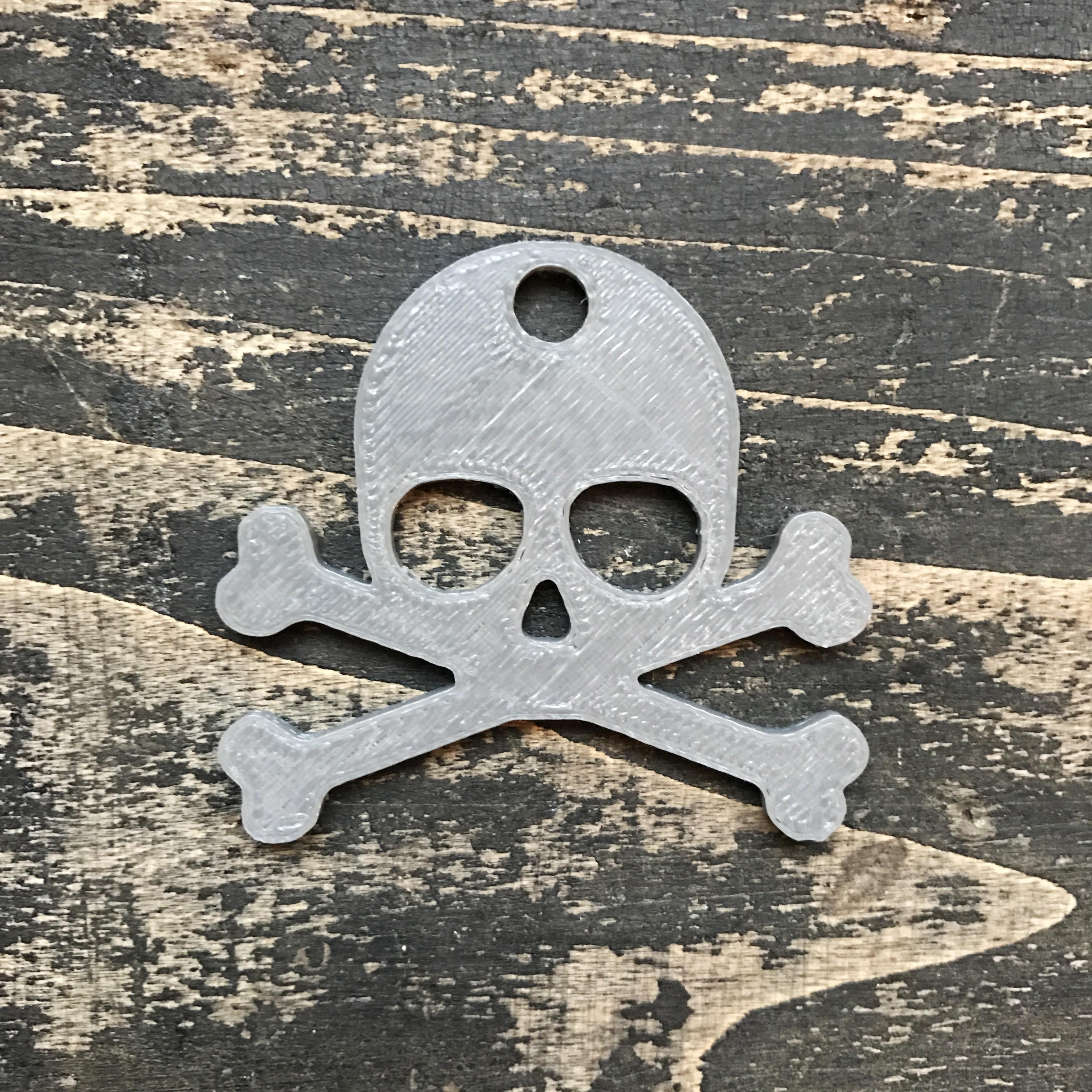 3.JPG Télécharger fichier STL gratuit Porte-clé crâne • Objet à imprimer en 3D, Free-3D-Models